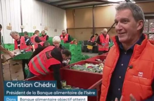 France 3 Alpes : Banque Alimentaire objectif atteint